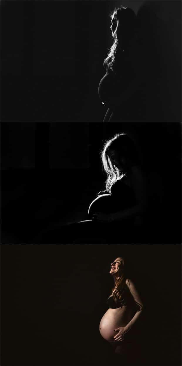fotografo di gravidanza in coppia