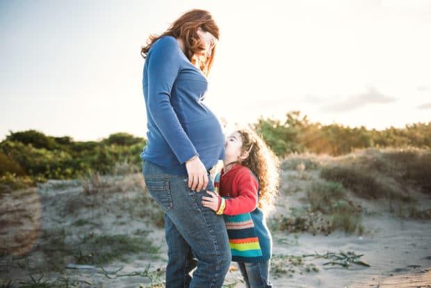 FOTO Maternità bambina