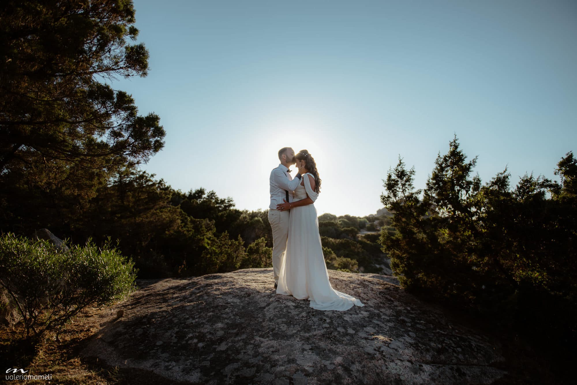 Beach wedding alghero