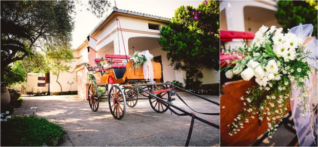 carrozza matrimonio