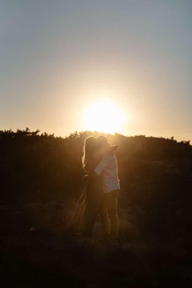 engaged sassari mare tramonto