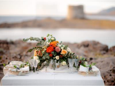 Sardinia beach wedding