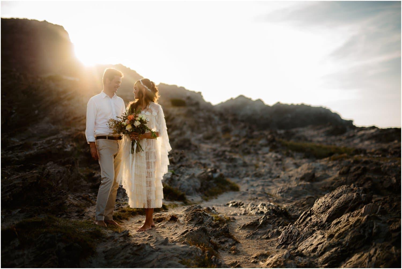 Sardinia beach wedding