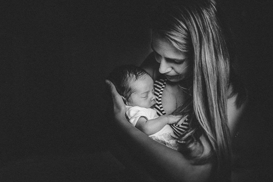 neonato famiglia