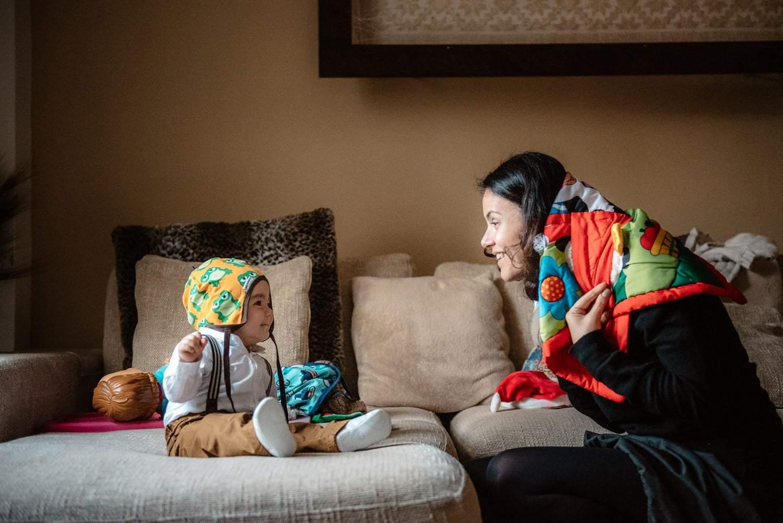 Family storytelling. alghero