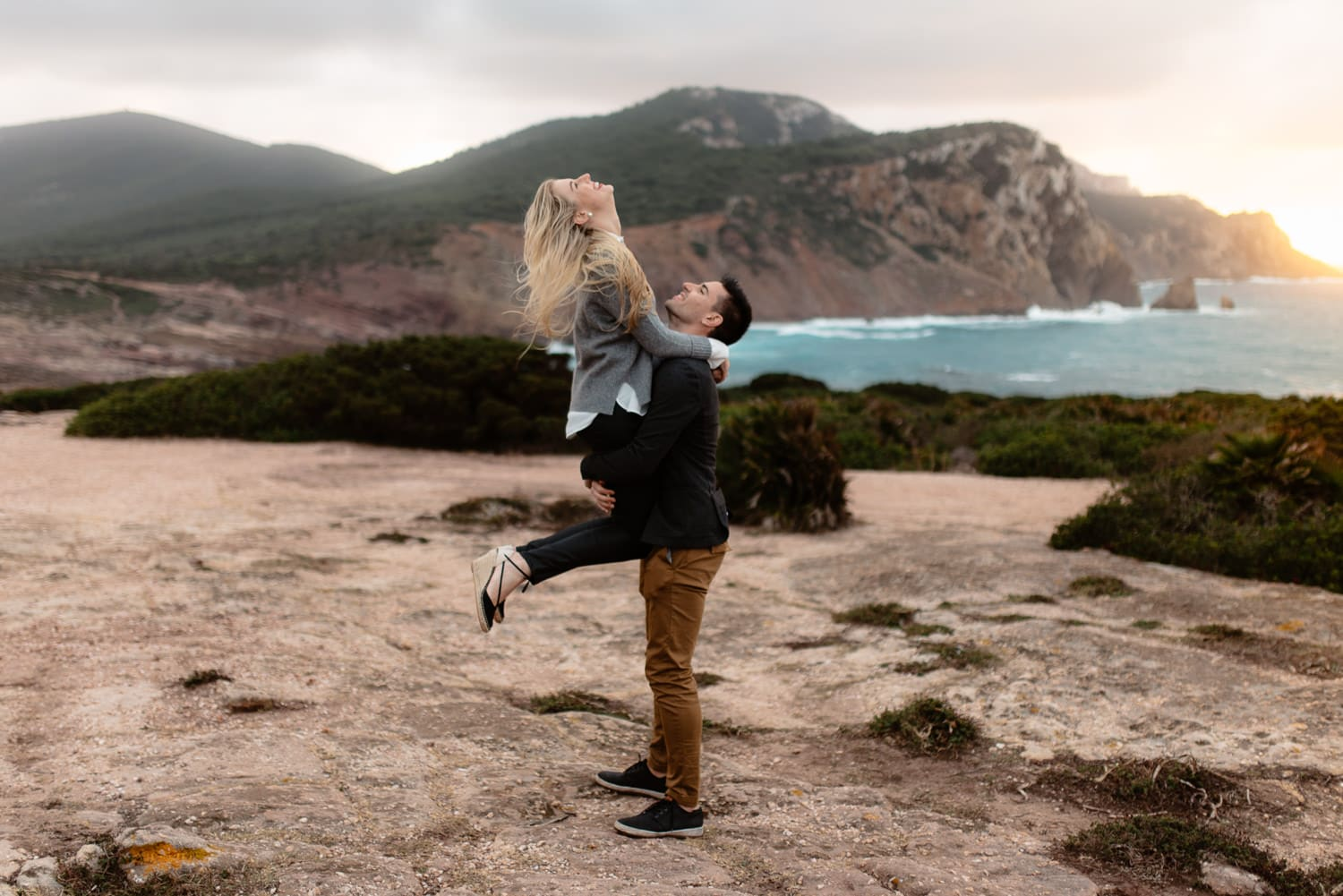 Sardinia wedding proposal Alghero