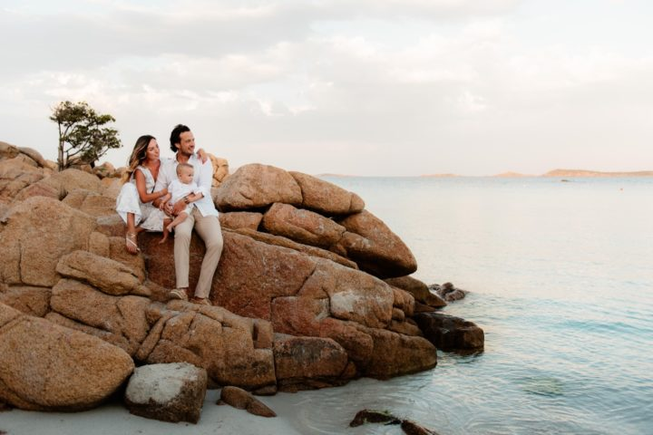 Family photos in Porto Cervo
