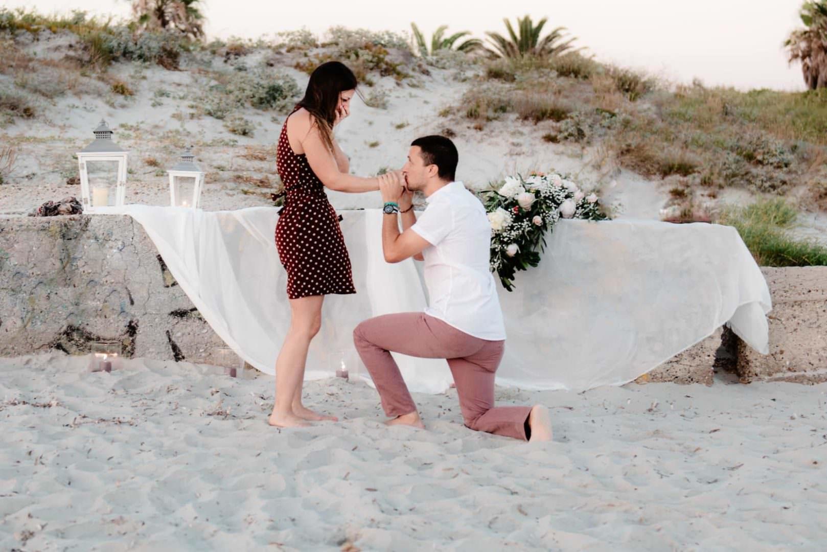 proposta di matrimonio Oristano