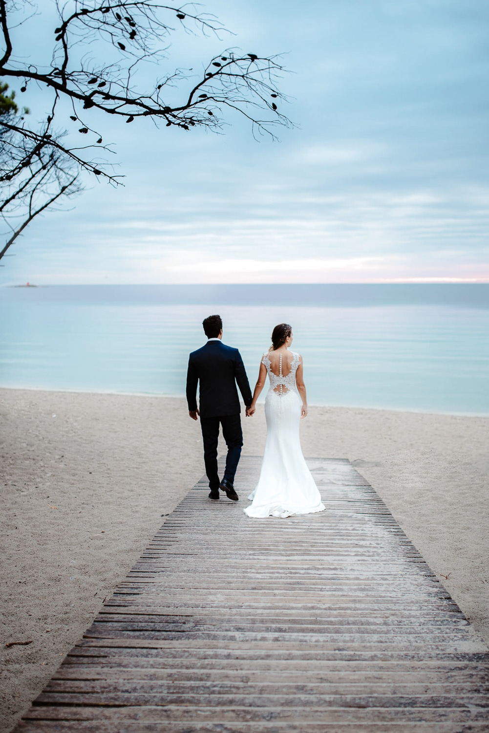 married on the beach alghero
